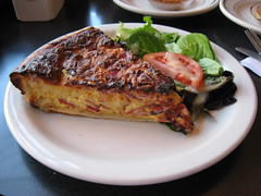 Sweet Thang: Quiche lorraine (another view)