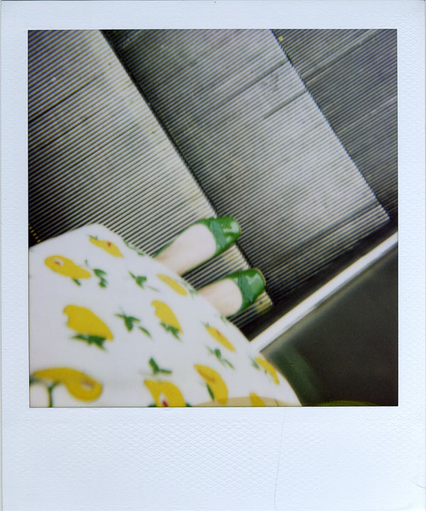 old pola of feet