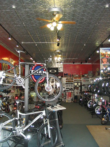 View of High Gear Cyclery in Emporia KS