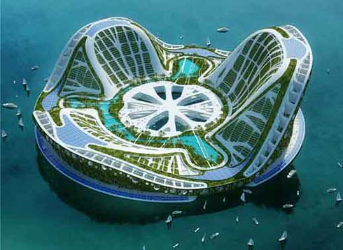 2569679309 1b96f596f3 Future Architecture : Floating Ecopolis for Climate Refugees