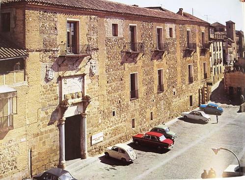 Palacio de Fuensalida en los años 60