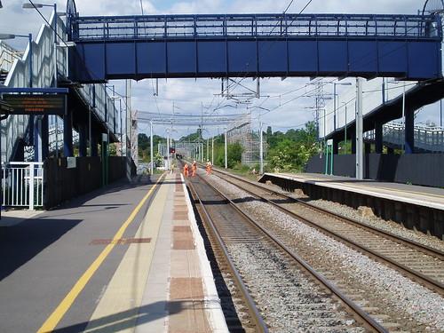 Looking towards Birmingham Tile Hill Station