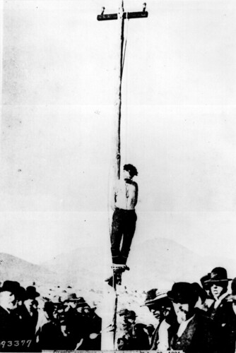 The lynching of John Heith at Tombstone