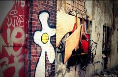 The Urban Bike (Mademoiselle Monique) Tags: urban amsterdam bike graffiti ndsm challengeyouwinner