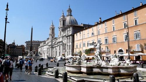 Piazza Navona, Rome 2008