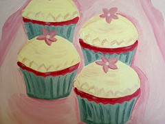Cupcakes in Acrylic