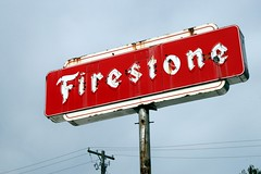 firestone neon sign