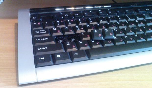 Genius Slimstar klaviatūra: apžvalga #2