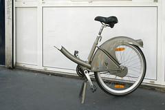 (ariel.chico) Tags: paris broken bike bicycle half velib