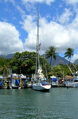 Lahaina Sailboat (thedesignfoundry) Tags: sailboat boats maui lahaina westmaui lahainaharbor thedesignfoundry