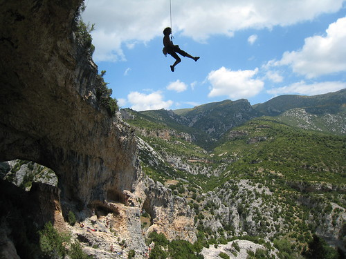 Joseba coming down from the clouds
