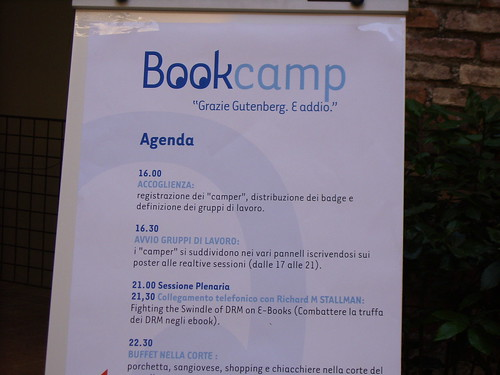 Poster Bookcamp