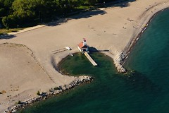 Leuty Lifeguard Station (Tom Podolec) Tags: park lake toronto ontario canada beach station kew gardens canon boats boat waterfront view lifeguard row aerial beaches lakeontario dslr lifeguards torontobeach torontobeaches leuty 40d news46 thisimagemaynotbeusedinanywaywithoutpriorpermission©allrightsreserved2008 200807151816070242