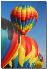 Hot Air Balloons (camerainhand/Larry Boswell) Tags: nikon nikkor hotairballoons flickrchallengewinner camerainhandlarryboswell thechallengegame challengegamewinner