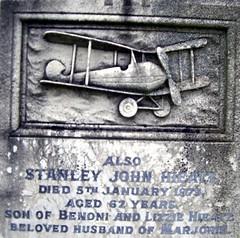 Memorial engraving Bernard Laurence Hieatt