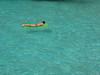 hektische aktivität (rolohauck) Tags: sea summer girl spain meer top 20 mallorca mädchen cala spanien luftmatratze mondrago top20summer lpfloating