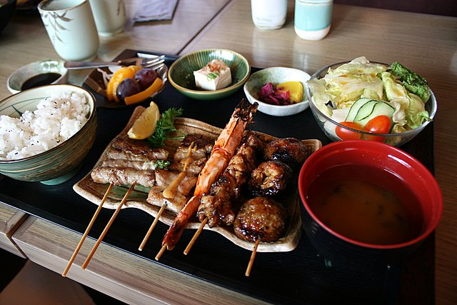 Mixed Kushiyaki set