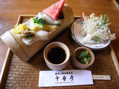 三輪素麺『千寿亭』