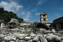Palenque Tower and Temple