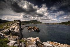 Wish you Were Here (Frankverro) Tags: ocean sea sky rock clouds newfoundland bay scenery harbour coastline paysage salvage 1022mm hdr saltwater eastport photomatix canonrebelxti ndgradfilter