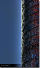 Torre Agbar 1/2 (arturii!) Tags: barcelona city blue windows red summer sky hot window architecture composition photoshop wow eos amazing interesting arquitectura europa europe foto view superb awesome capital cel center catalonia fave finestra architect vista leds vermell catalunya blau hdr torreagbar artur catalua barcelone gettyimages calor ciutat estiu avantgarde rascacielos gratacels simetria jeannouvel catalogne glories barcelons falico photomatix impresive referencia golddragon 400d supositori platinumphoto anawesomeshot aplusphoto arquitecte arturii 2canon solarcontrol detallessculpturalandaechitecturaltreasures goldenvisions skygreaper avanguarda