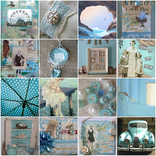 Aqua inspiration by seaside rose garden.