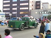 Old cars are a part of any parade.