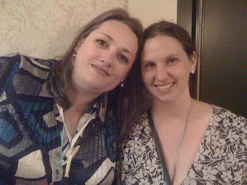Crystal and Amanda