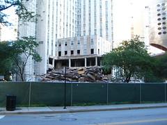 My commute (Patrick Houdek) Tags: city lake chicago bus demolish hospital drive illinois downtown cta walk michigan authority demolition condo shore transit commute avenue 78 151 143 diversey photobypatrickhoudek