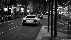 Audi R8 (Jeroenolthof.nl) Tags: pictures park uk england bw white motion black green london beautiful car modern night photography 50mm grey lights hotel is moving amazing nice movement jeroen nikon driving view shot britain circus united rear great d70s picture kingdom piccadilly automotive explore if ritz paparazzi lovely nikkor f18 18 audi panning rs exclusive s4 s5 r8 s6 s8 automotion q7 q5 olthof jeroenolthofnl jeroenolthof