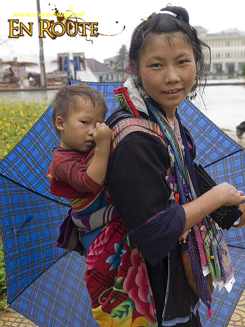 Sapa Mother and Child