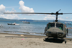 waiting... (Keith Bacongco) Tags: huey uh1 davaocity philippineairforce philippinenavy davaogulf armedforcesofthephilippines c130crash