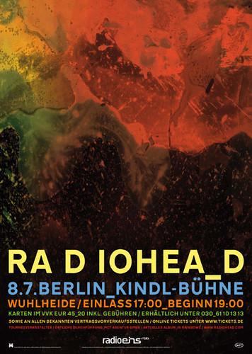 radiohead berlin