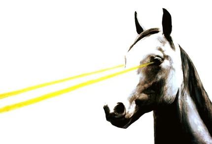 laser horse