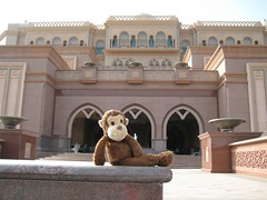 Munkie at the Palace Hotel