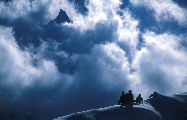 Manaslu trek -  Base camp 1999 (4800 m)