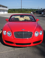 bentley front (*0ne*) Tags: pennsylvania bentley coolcar 0ne familyvisit2008 christinekaelin