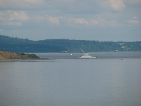 Ferry from Port Townsend to Keystone on Whidbey Island
