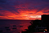 Barbados Sunset (jendayee) Tags: sunset red sea clouds boats violet barbados 1001nights goldenglobe bej mywinners abigfave platinumphoto skytheme dpsred