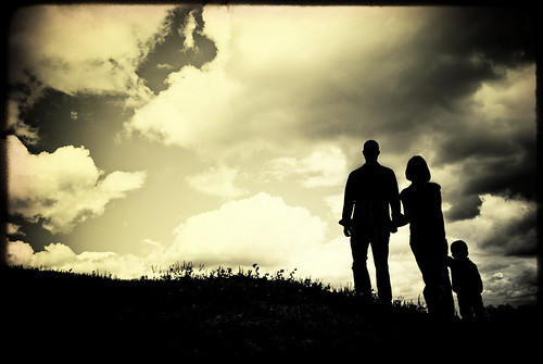 We will become silhouettes...