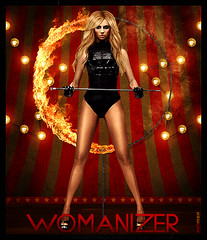 Britney Spears - Womanizer (netmen.) Tags: hot fire spears circus britney blend womanizer netmen