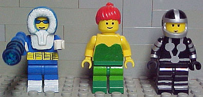 lego men and woman