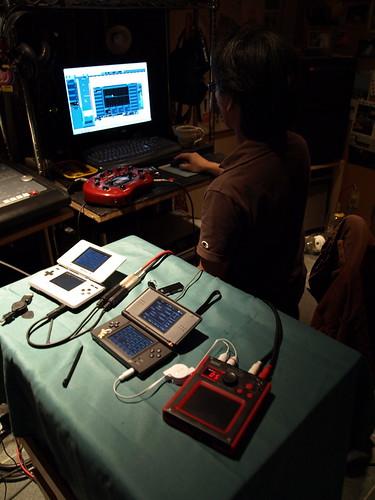 DS-10セッションのセッティング