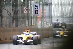 At turn 13 (bleublogger) Tags: family vacation sport singapore f1 formulaone insingapore