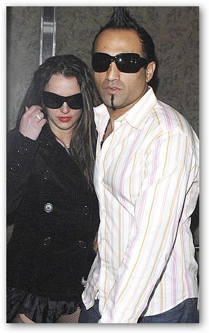 Adnan Ghalib with Britney Spears