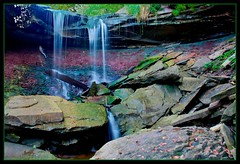 Devils punch bowl lower (Steve Gilchrist) Tags: ontario canada nature water photography photo waterfall rocks pentax photos hamilton 2008 devilspunchbowl ontariowaterfalls hamiltonwaterfalls k200d