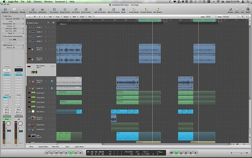 Logic Pro 8 Graphic Bug
