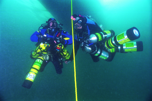 Trimix Divers