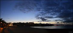 Un Atardecer cualquiera (diegoperez74) Tags: sunset sky espaa beach azul night atardecer noche spain corua playa galicia galiza cielo nubes puestadesol ocaso anochecer crepsculo santacristina acorua solpor