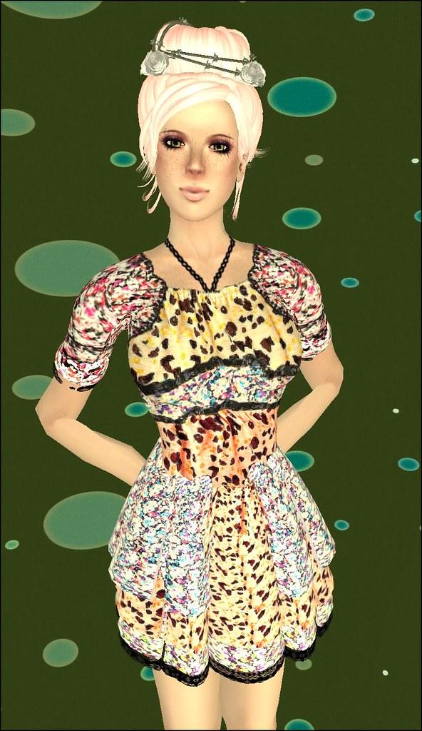 pic free cute cute skins & group gift dress